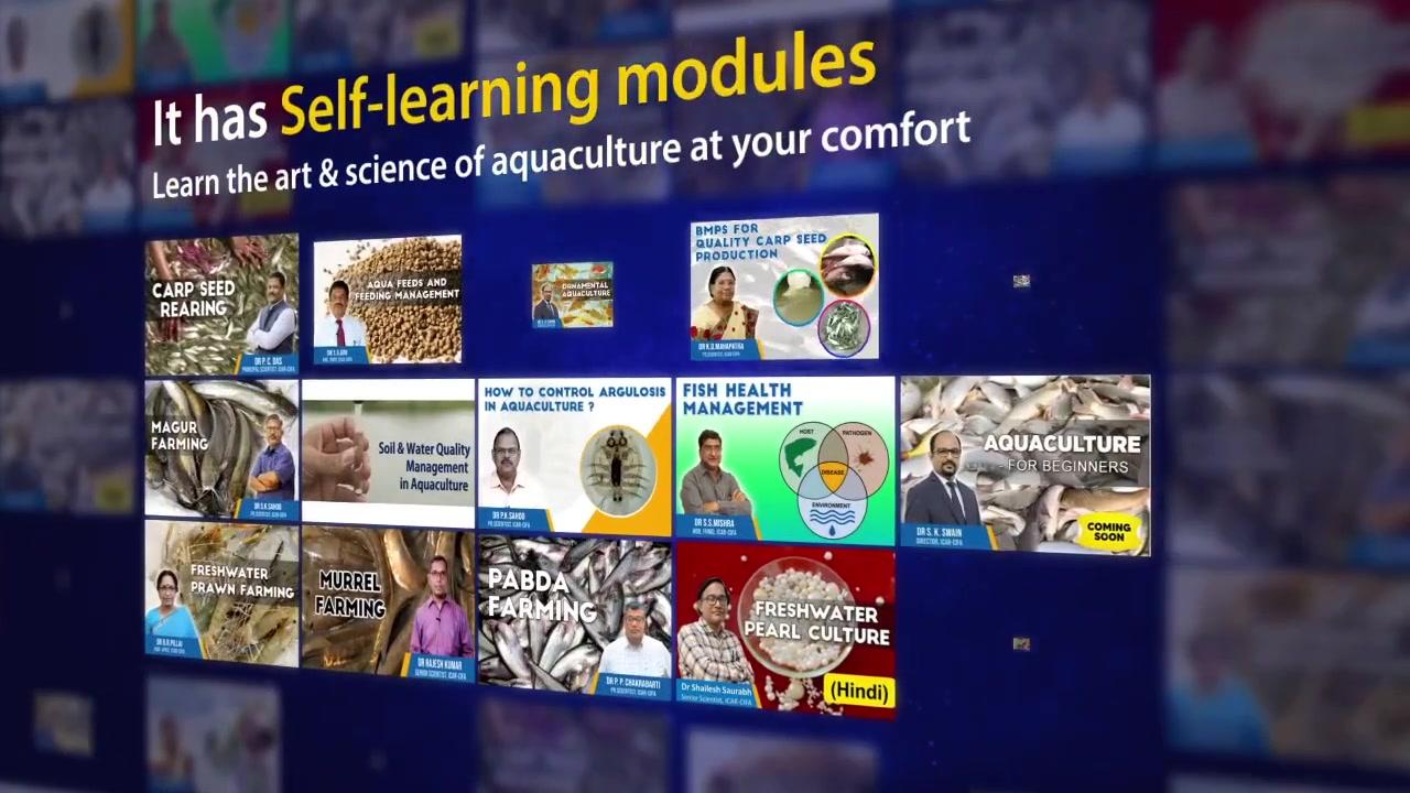 Matsya Setu - The Virtual Learning App for Fish Farmers - ICAR-CIFA- NFDB-Dept of Fisheries, GoI